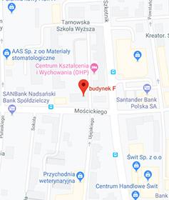Tarnów, ul. Mościckiego 27 budynek F (budynek jednostki OHP)